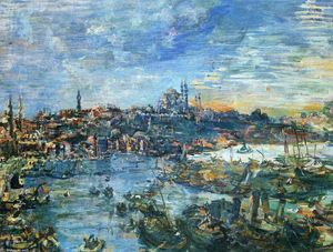 Oskar Kokoschka - View of Constantinople