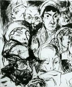 Otto Dix - The Declaration of War