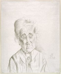 Otto Dix - Old Woman