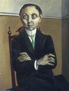 Otto Dix - Portrait of Paul F. Schmidt