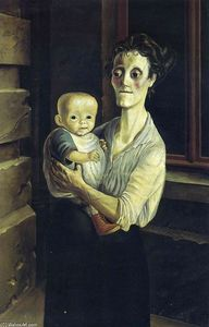 Otto Dix - Mother with Child