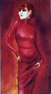 Otto Dix - The Dancer Anita Berber