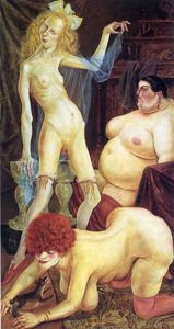 Otto Dix - Three Wenches