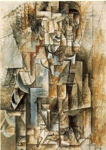 Pablo Picasso - Man with guitar