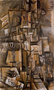 Pablo Picasso - The aficionado (The torero) - (Famous paintings reproduction)