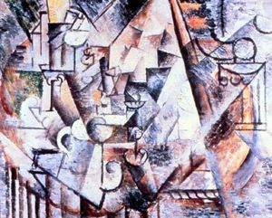 Pablo Picasso - The chess