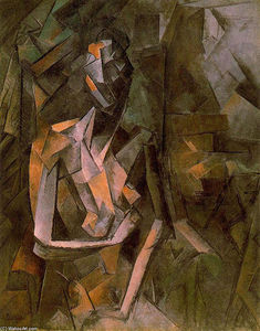 Pablo Picasso - Seated female nude
