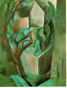 Pablo Picasso - House in the garden