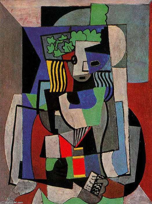 The student, 1919 by Pablo Picasso (1881-1973, Spain) | Art Reproduction | WahooArt.com
