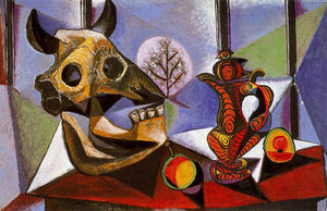 Pablo Picasso - Still life with bull's skull
