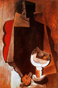Pablo Picasso - Figure with fruit dish