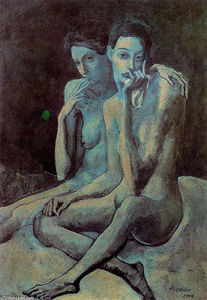 Pablo Picasso - Two friends