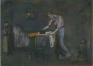 Pablo Picasso - The room of the ironer