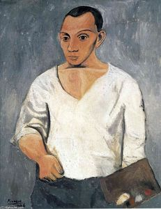 Pablo Picasso - Self-Portrait