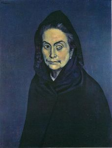 Pablo Picasso - Celestina - (Famous paintings)