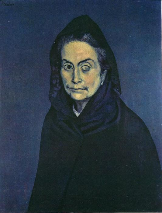 Celestina, 1904 by Pablo Picasso (1881-1973, Spain) | Art Reproduction | WahooArt.com