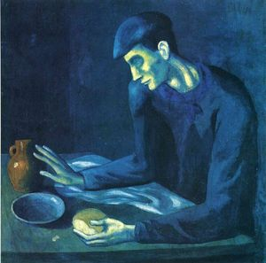 Pablo Picasso - Breakfast of a Blind Man