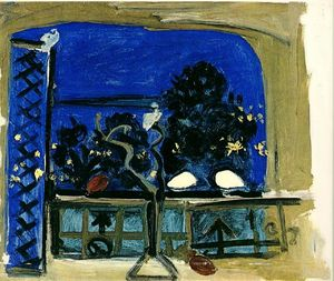 Pablo Picasso - Studio (Pigeons perch)