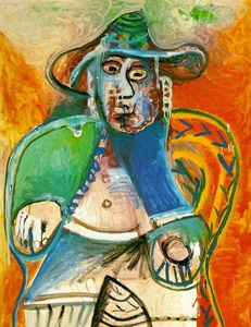 Pablo Picasso - Seated old man