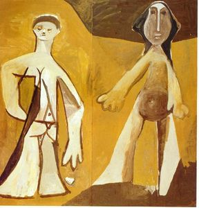 Pablo Picasso - Man and Woman