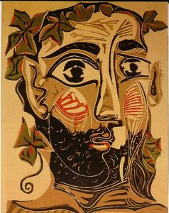 Pablo Picasso - Bearded man
