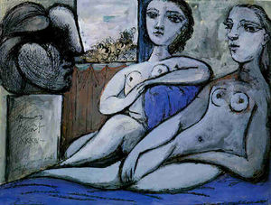 Pablo Picasso - Nudes and bust
