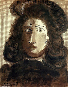 Pablo Picasso - Woman with hat