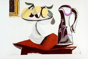 Pablo Picasso - Still life with lemon and jug
