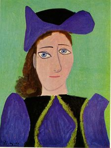Pablo Picasso - Portrait of D. M.