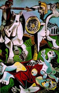 Pablo Picasso - The Abduction of Sabines