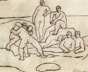 Pablo Picasso - The fighters