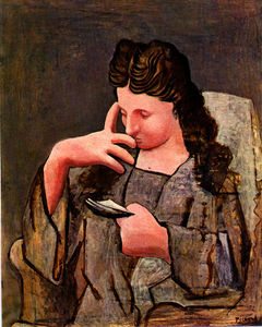 Pablo Picasso - Seated woman (Olga)