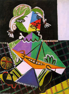 Pablo Picasso - Maya with boat
