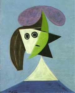 Pablo Picasso - Woman with hat (Olga)