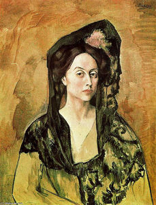 Pablo Picasso - Portrait of Madame Canals