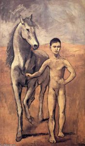 Pablo Picasso - Boy leading a horse
