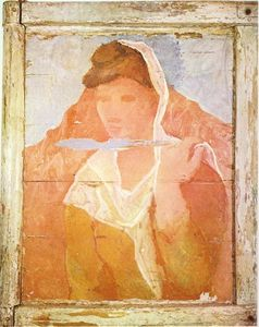 Pablo Picasso - Fernande with shawl