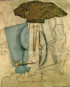 Pablo Picasso - Student with pipe