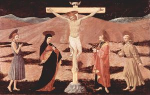 Paolo Uccello - Christ on cross