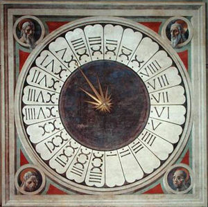 Paolo Uccello - 24 hours clock