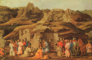 Paolo Uccello - The Adoration of the Kings