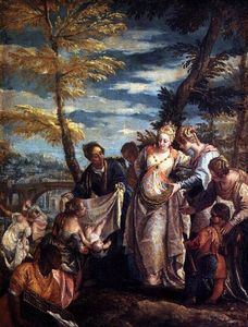 Paolo Veronese - The Finding of Moses