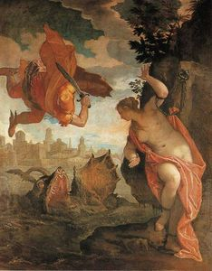 Paolo Veronese - Perseus freeing Andromeda