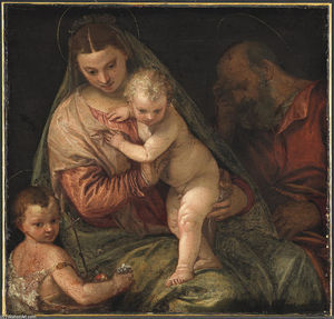 Paolo Veronese - The Holy Family with the Infant St. John the Baptist