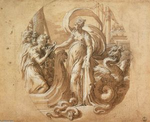 Parmigianino - Circe and the Companions of Ulysses