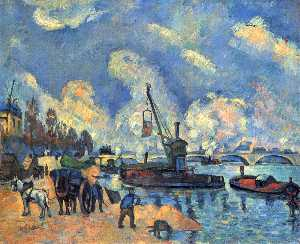 Paul Cezanne - The Seine at Bercy