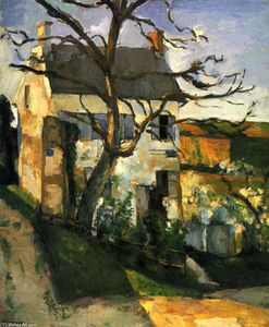 Paul Cezanne - The House and the Tree