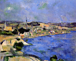Paul Cezanne - The Bay of l'Estaque and Saint-Henri