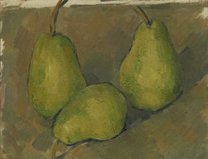 Paul Cezanne - Three Pears