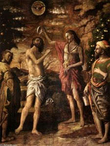 Andrea Mantegna - Baptism of Christ
